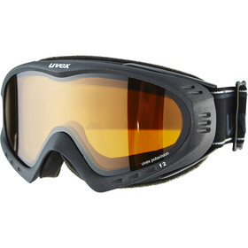 UVEX F2 Polarvision Gafas de esquí, black metallic mat/polarvision